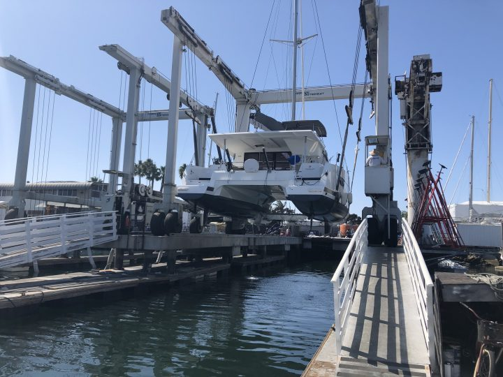 catamaran haul out san diego